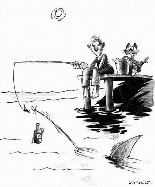 Открытки, рисунки с юмором карандашом