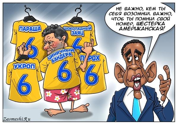 Карикатура - Американская шестёрка