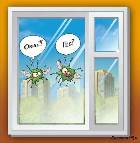 Смешные картинки о окнах, рисунок бабочкой рисунок