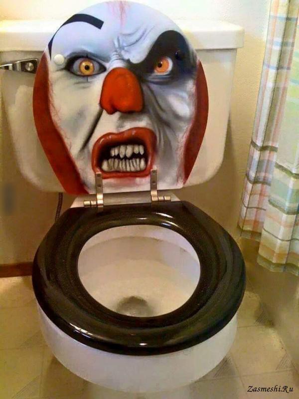 Надписью, картинки в туалет смешная